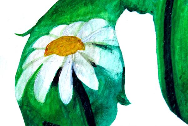 Watercolor Silhouette
