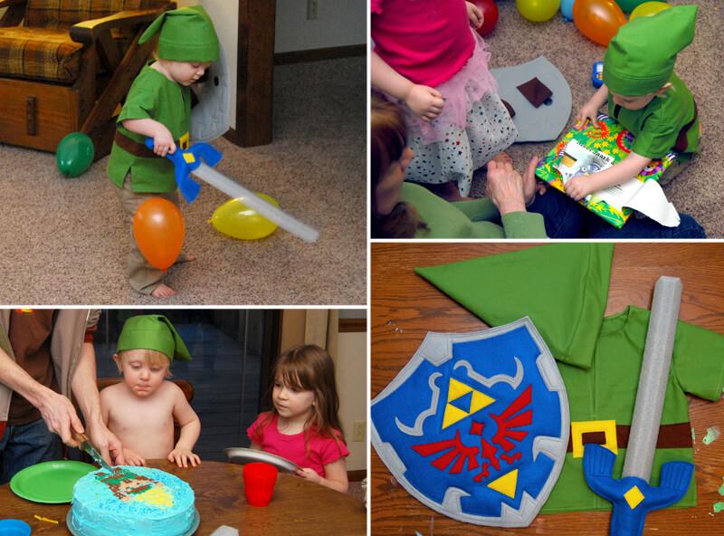 Zelda Birthday Party
