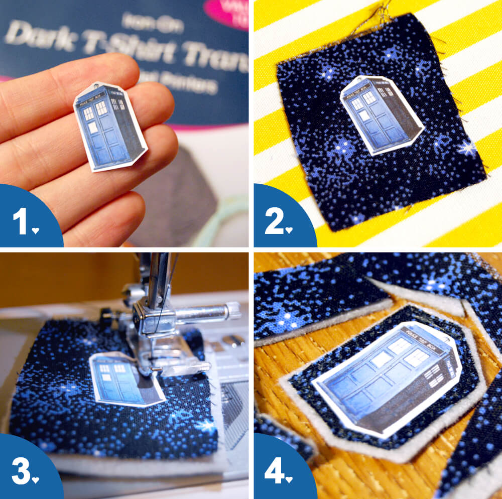 Fabric Brooch Tutorial