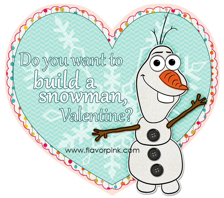 picture regarding Do You Want to Build a Snowman Printable titled Do yourself need in the direction of create a snowman? FlavorPink