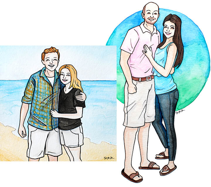 watercolor-portraits